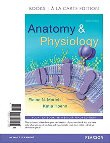 Amazon Anatomy Physiology Books A La Carte Edition 6th
