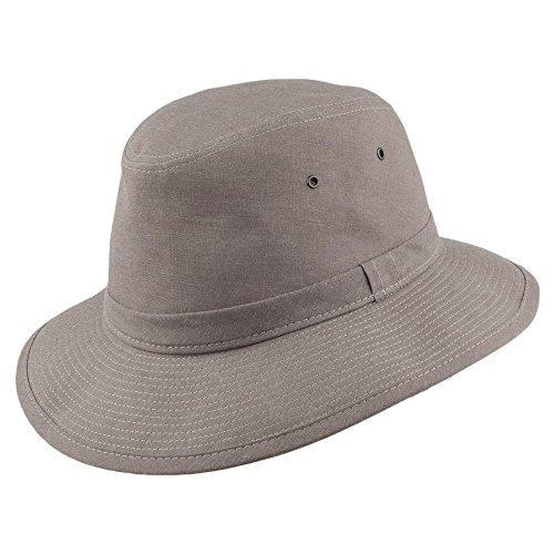 Sombrero Algodón Safari Gris Crambes De Fedora xq8wxAO1a