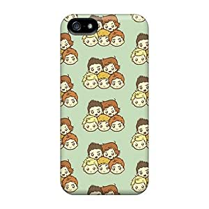 Hot Fashion XEf11241MYdG Design Cases Covers For Iphone 5/5s Protective Cases (one Direction Pattern)