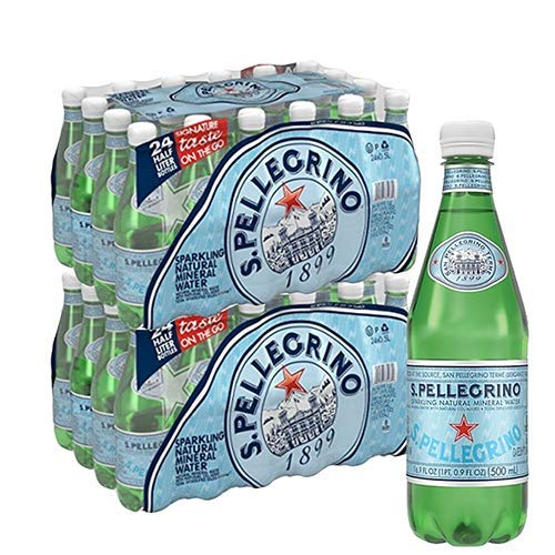 San Pellegrino Sparkling Natural Mineral Water - 48 pack, 16.9 fl oz bottles