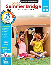 Summer Bridge Activities Workbook―Bridging Grades 2 to 3 in Just 15 Minutes a Day, Reading, Writing, Math, Science, Social Studies, Summer Learning Activity Book With Flash Cards (160 pgs)