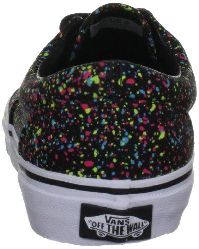Vans Era, Zapatillas de skate Unisex Negro (Overspray/Black)