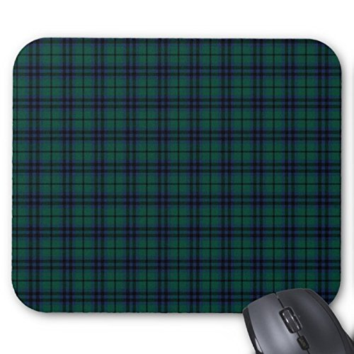 Rectangle Mousepad Clan Keith Modern Tartan Mouse Pad 7x9 Inches Designed by Gloria - Modern Clan Tartan