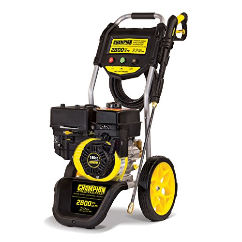 Champion Power Equipment 100382 2600 PSI 2.2 GPM Dolly Style Gas Powered Pressure Washer with Axial Cam Pump