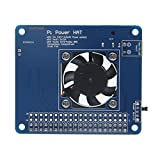 Geekworm Programmable Smart Temperature Control Fan and Power Expansion Board for Raspberry Pi 3 / 2B