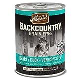 Merrick Backcountry Hearty Duck & Venison Stew Gra...