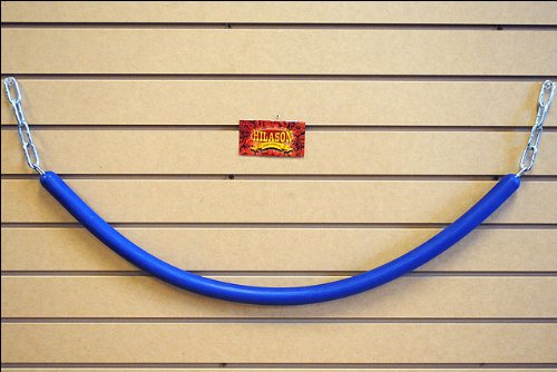 (HILASON Royal Blue Western Horse TACK Rubber STALL Guard with Chain Ends)