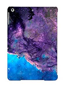 For Ipad Air Protective Case, High Quality For Ipad Air Purple Nebula Skin Case Cover