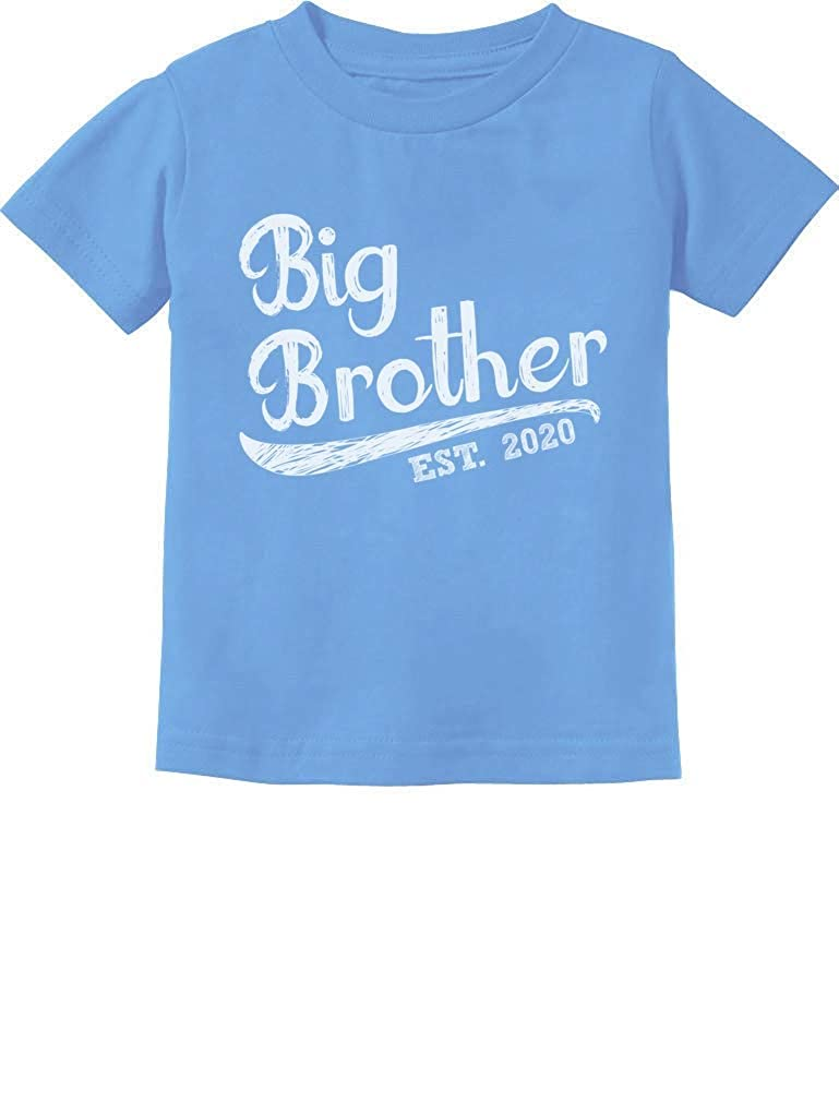 Gift for Big Brother 2020 Siblings Gift Toddler Kids T-Shirt