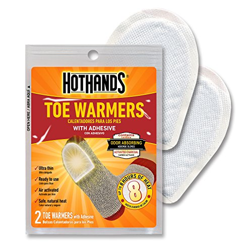 HotHands Hand & Toe Warmers Long Lasting Safe Natural Odorless Air Activated Warmers 24 Pair OF Hand Warmers & 8 Pair Of Toe Warmers