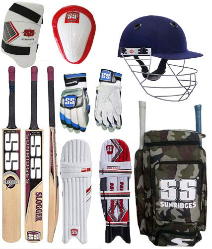 SS Original Brand Full Cricket Complete Kit Ideal for Men