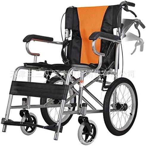 自走式 車いす 介助型 軽量 介助式車椅子ハイポリマータイヤノーパンク座幅49センチワイドシート