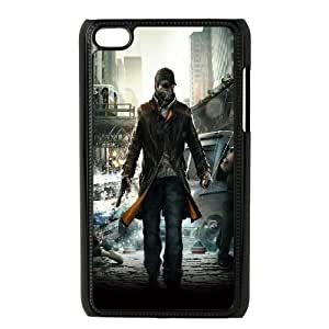 iPod Touch 4 Case Black Watch Dogs - Aiden Pearce Hpfbe