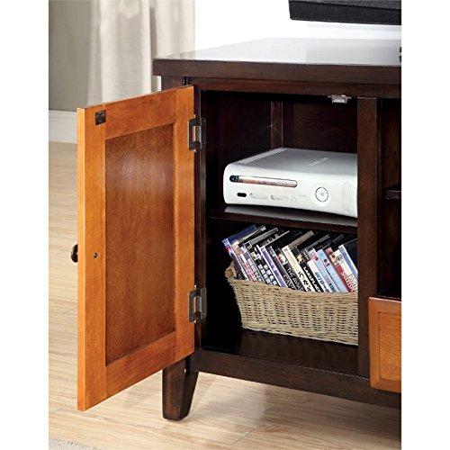 """Furniture of america bree 72\"""" tv stand"""