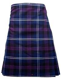 Mens Kilt Heritage Of Scotland Tartan Full 8 Yard 24 Drop 46 to 48