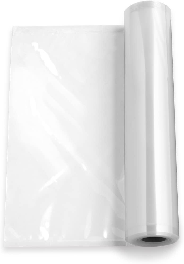 Waring Commercial WCV33R Roll Chamber Vacuum Bags, Clear, 33' L x 11
