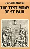 img - for The Testimony of St. Paul book / textbook / text book