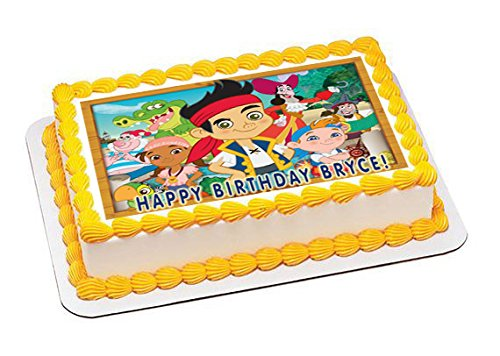 Jake and The Neverland Pirates - Edible Cake