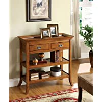 247SHOPATHOME Idf-AC214, sofa table, Oak