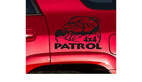 Amazon.com: Nissan Patrol Gu Gq Ute 4.2 Turbo Diesel 4X4 Sticker Pair: Automotive