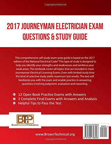 2017 journeyman electrician exam questions and study guide ray