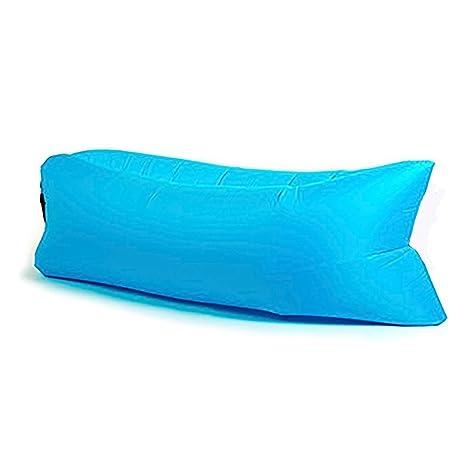 bohao® Luxury Cojín inflable Sofá Saco de dormir, compresión Air, camas silla portátil