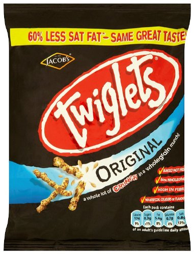 Jacobs Twiglets Original 45 G (Pack of 30)