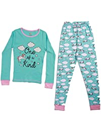 Pajamas for Girls Snug-Fit Cotton Kids' PJ Set