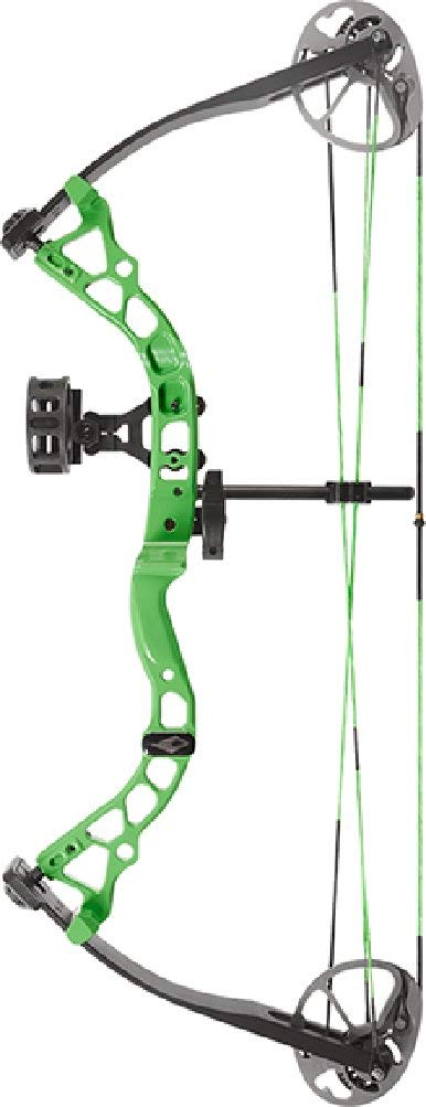 Diamond Archery Atomic Neon Green Bow Package 29 Lbs Right Hand by Diamond