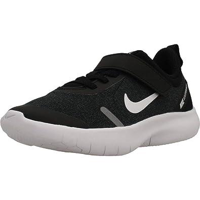 60821828d67b9 Nike Boy s Flex Experience RN 8 (PS) Pre School Shoe Black White