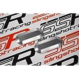 (2002-2007) Silver Honda 919 Hornet 900 CB900F Rear Tail Fairing Rail Block Off Plate Caps