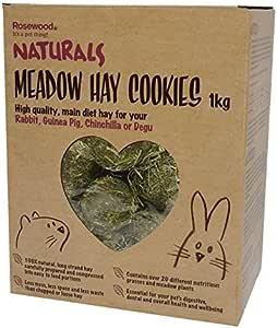 Rompe Aburrimiento Natural Meadow heno cookies 1kg: Amazon.es ...