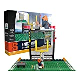 NCAA Syracuse Orange End Zone Set Gen 2 Buildable Kit, Small, Black