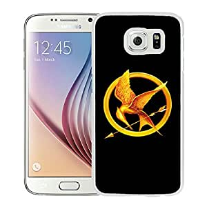 Custom Luxury Cover Case With The Hunger Games White Samsung Galaxy S6 Case