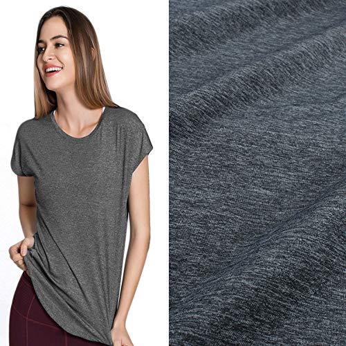 4 Way Stretch Comfortable High Elastic Sewing Fabric Cloth Tn Yarn Lycra Spandex for Underwear Jersey Yoga 150cm Wide by Yard