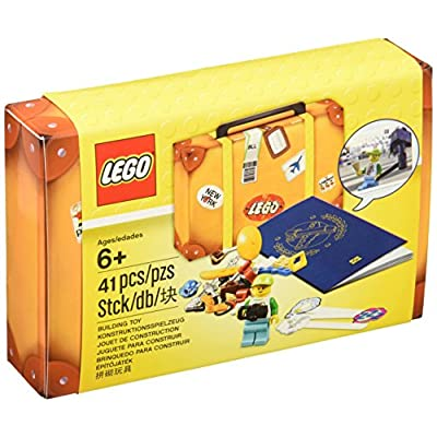 LEGO Travel Building Suitcase 5004932: Toys & Games