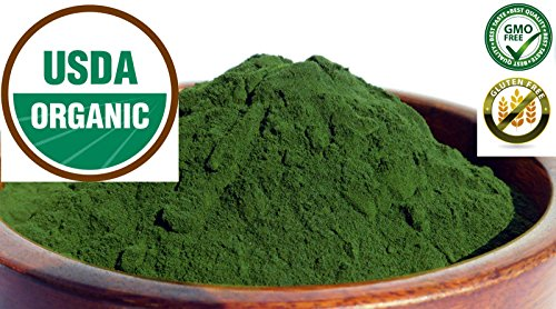Pure Organic Wheatgrass JUICE Powder ~ Grown in the USA - No fillers ~1 oz bag