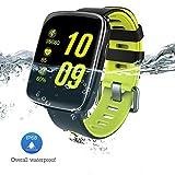 SENBONO GV68 Bluetooth Smart Watch IP68 Waterproof MTK2502 Smartwatch Pedometer Sedentary Alarm Heat Rate Sleep Health Monitor Fitness Bracelet for IOS Android Phone