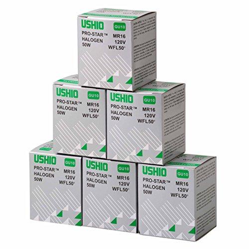 - Fantech PBB50 6pk Halogen Replacement Bulbs, 50W (Pack of 6)