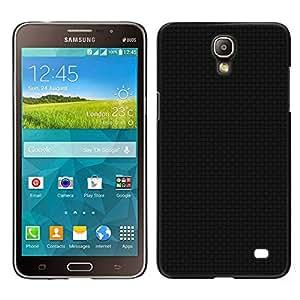 """For Samsung Galaxy Mega 2 , S-type Textura Negro"""" - Arte & diseño plástico duro Fundas Cover Cubre Hard Case Cover"""
