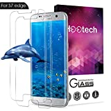 AOFU Samsung Galaxy S7 Edge Tempered Glass Screen Protector,[Anti-Scratch] [Bubble-Free] Wet Applied HD Clear Film Screen Protector for Samsung Galaxy S7 Edge-2 Pack