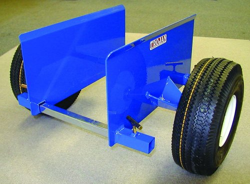 Trojan DC-9 Dolly-Cartin' 2 Wheeled Clamping Cart Unit with 9-Inch Clamping Capacity