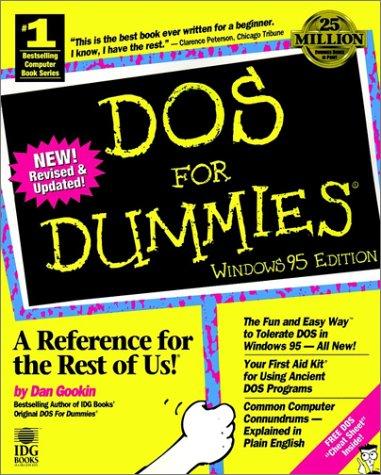 DOS For Dummies Windows 95 Edition - Dos Microsoft Windows