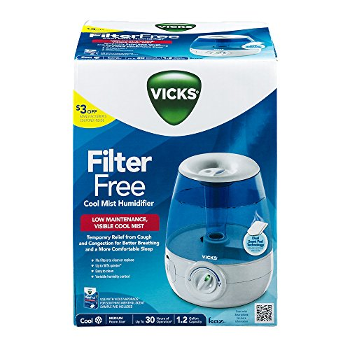 vicks filter free cool mist humidifier manual