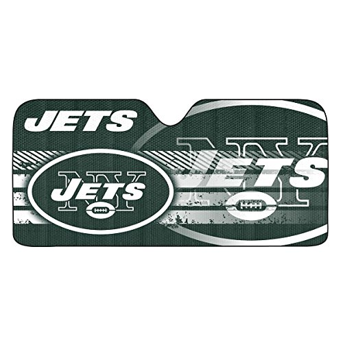 - NFL New York Jets Universal Auto Shade, Large, Green
