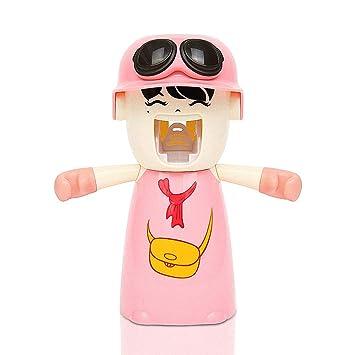 Dispensador automático de pasta de dientes cepillo de dientes titular: Amazon.es: Bricolaje y herramientas