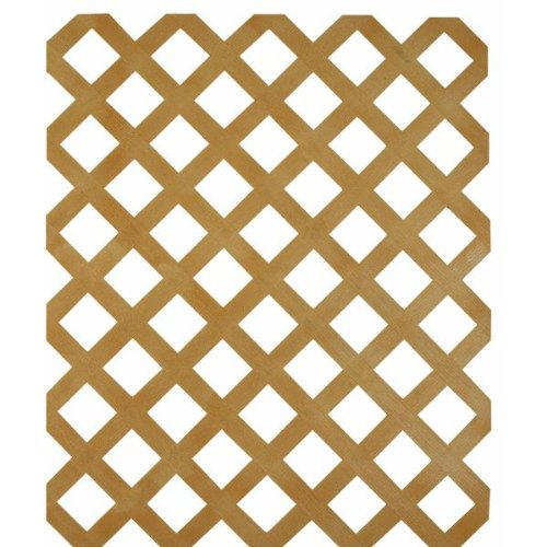 UFPI   PLSTC LATTICE 148263 4X8 Cedar - Lattice Cedar 4x8