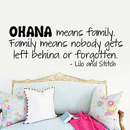 Ufengke Ohana Means Family Family Means Nobody Gets Left Behind