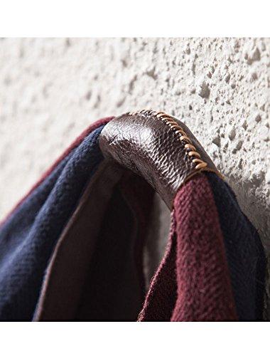 13 Handbag Sling Womne's Bag Style Capacity Hobo Large Casual Handmade Red blue Mordenmiss qXw6v86