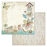 Stamperia Intl Scrapbooking Paper, Multi-Colored 10